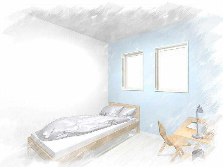 洋室A油絵